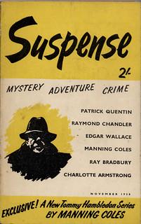 Suspense november 1958 volume 1 nr. 4