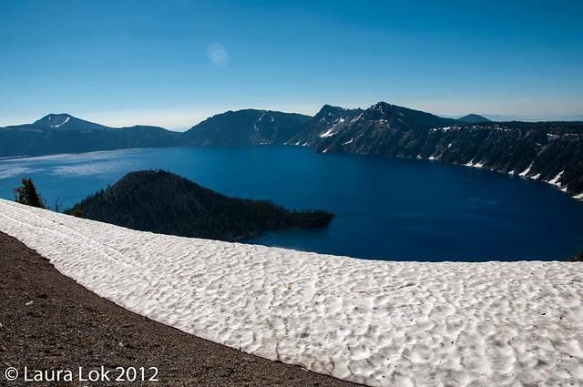 Crater Lake july 2012