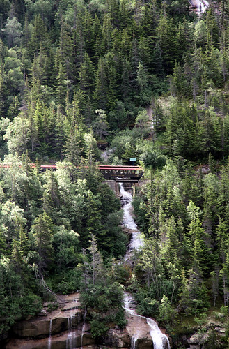 Skagway - Train over Bridge - Goat Lake Hydroelectric