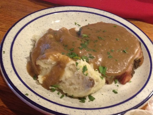 Pork loin and gravy