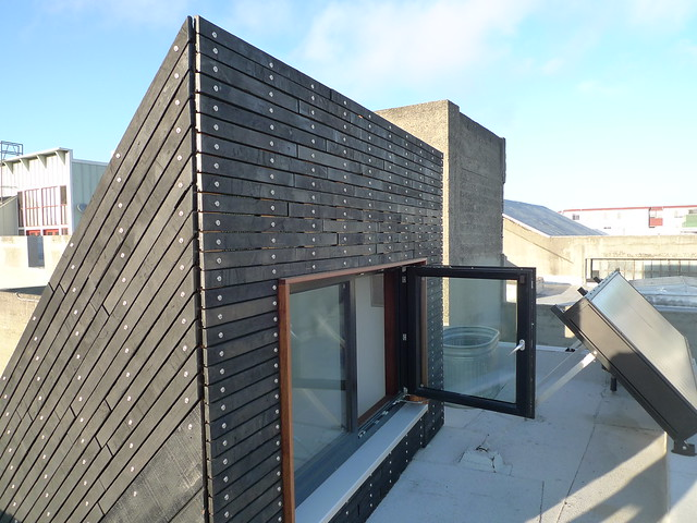 Burnt Wood Rainscreen Cladding Flickr Photo Sharing