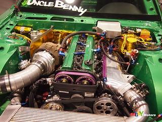 Nissan Silvia Toyota 2JZ turbocharged motor