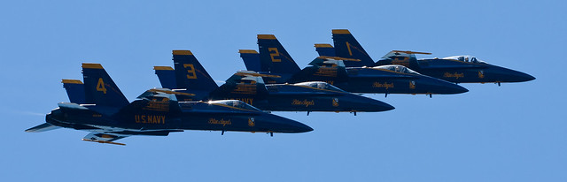 Blue Angels Echelon