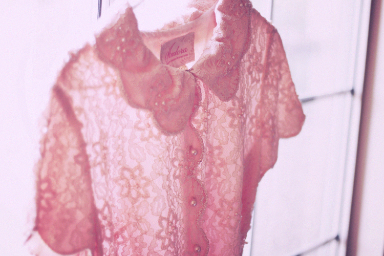close up of lace dress