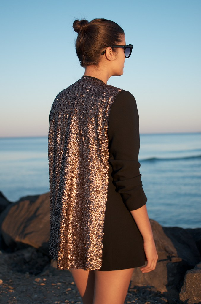 diy sequin blazer 5
