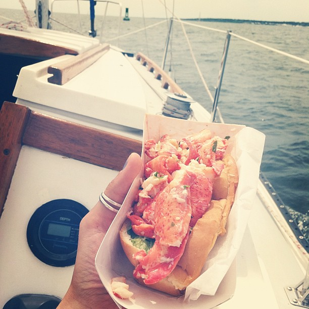 Now this is a lobster roll.
