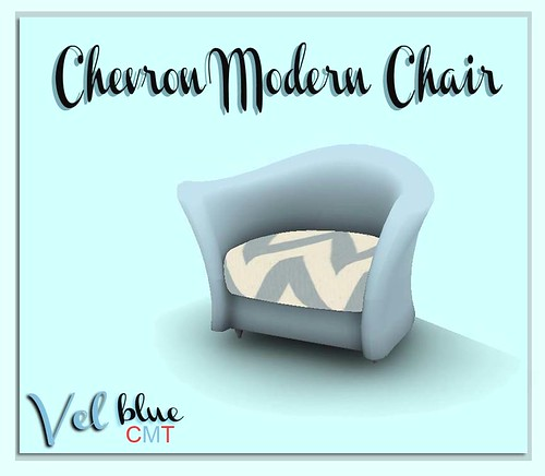 Vel, Chevron Modern Chair