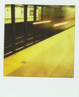 subway headlights, #2 line, NYC (34th St / Penn Station)