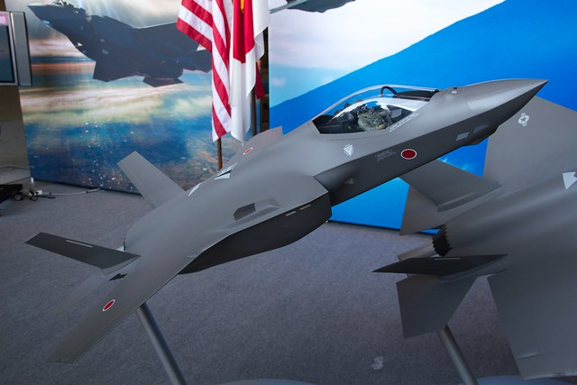 JASDF F-35A Official model plane