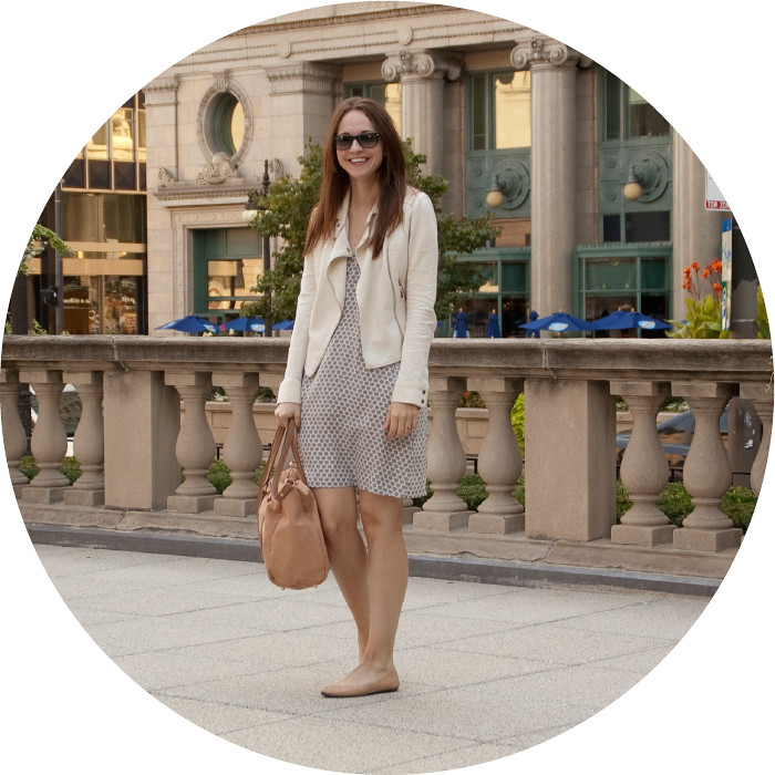 summer outfit, dress with moto jacket, grays, light neutrals, ootd, outfit blog, casual style