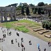 The Arch of Constantine and the Palatine Hill from the Colosseum