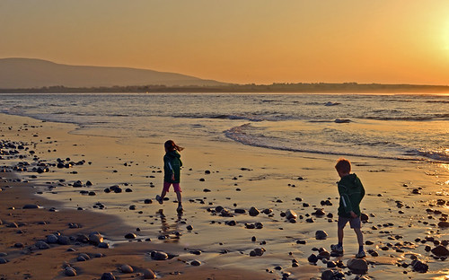 Sunset Walk at Strandhill