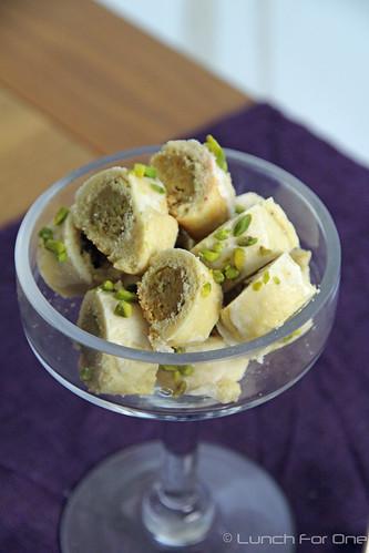 Marzipan-Pistazien Kekse