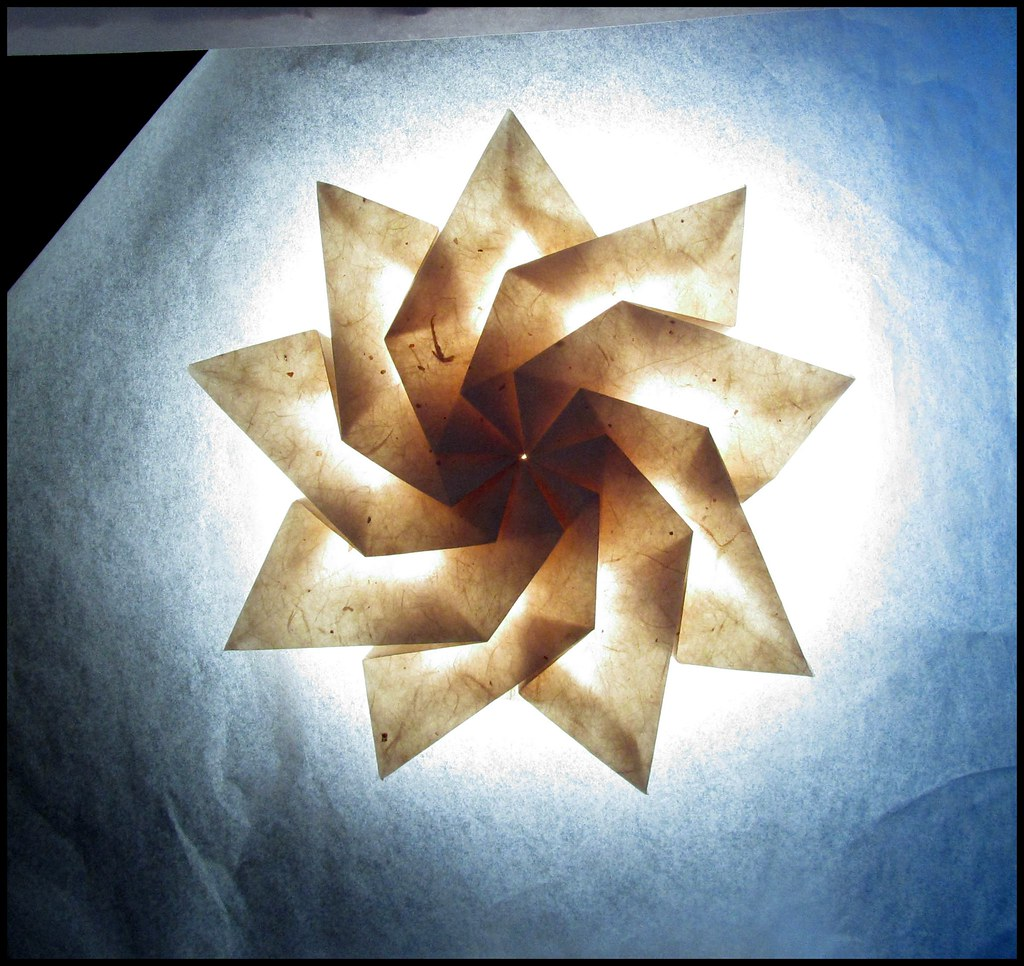 Nine-Pointed Twist Star