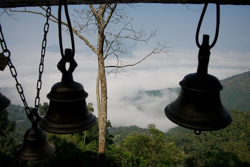 nepal travelling bells temple asia bell backpacking hindu hinduism manakamana afsnikkor28300mmf3556gedvr