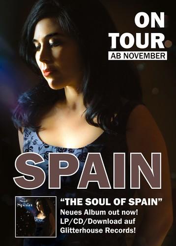 Spain Tour-Flyer 2012 Front