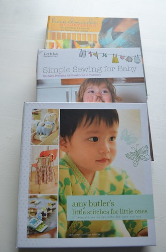 Baby sewing books