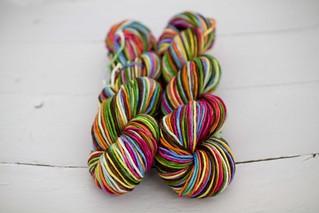 'ellie's  rainbow' Sequoia SW Merino - worsted