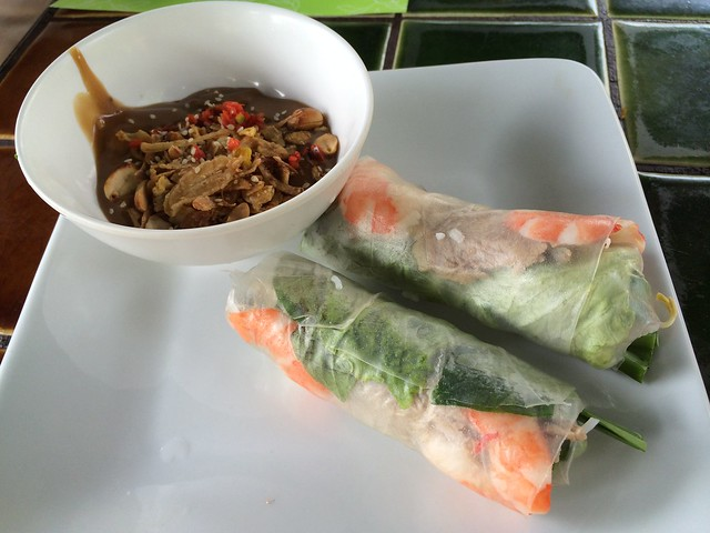 Fresh spring rolls - Barbecue Garden