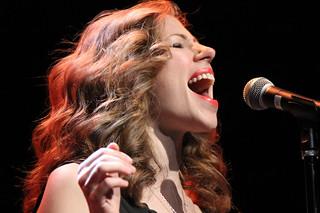 Lake Street Dive Rachael Price sings