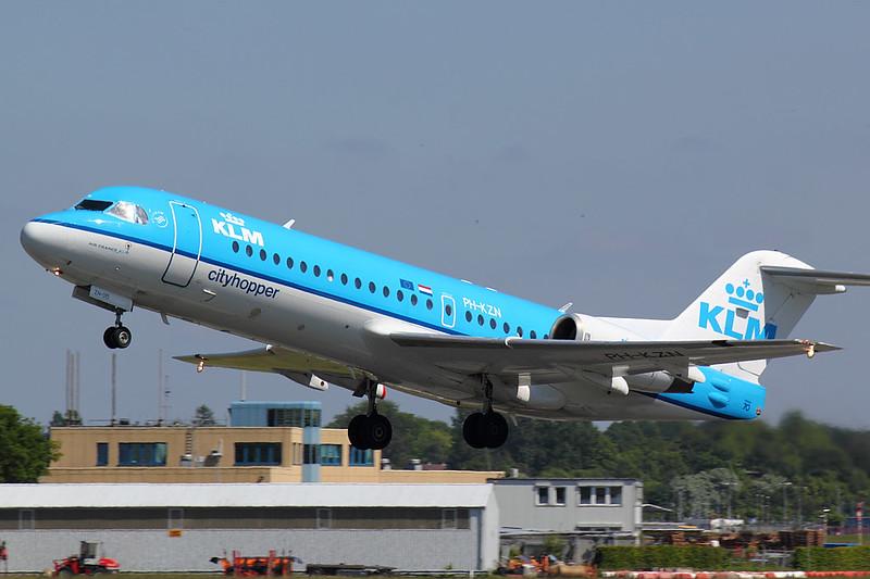 KLM - F70 - PH-KZN (1)