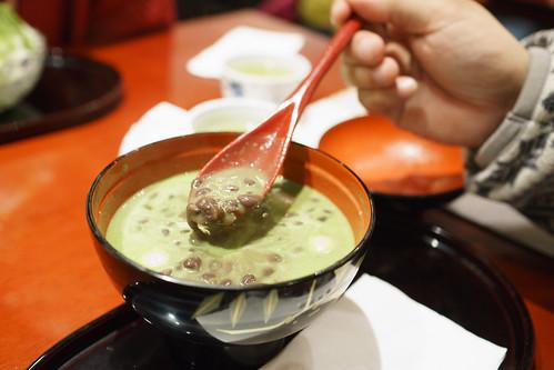 傳統的日式甜品, 紅豆湯