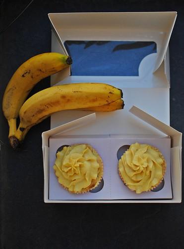 Choco Banana Cupcake