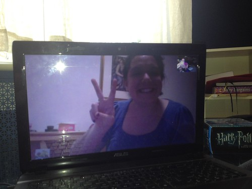 Skyping with Emily