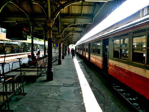 Fort Railway Station - Colombo 2012