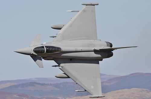 Warton Typhoon Blasts out of the Bwlch