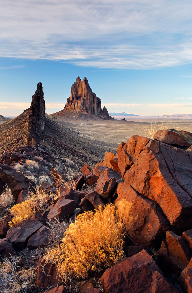 LD198 - Shiprock Rock, New Mexico, USA