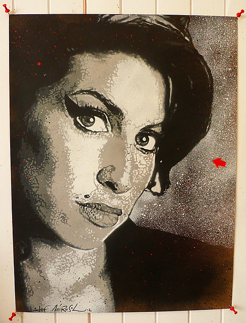 Jef Aérosol 2012 - Amy Winehouse