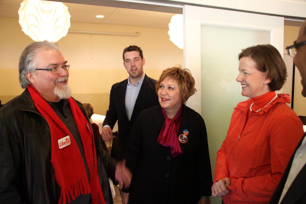 Alison Redford campaign election Edmonton 2012