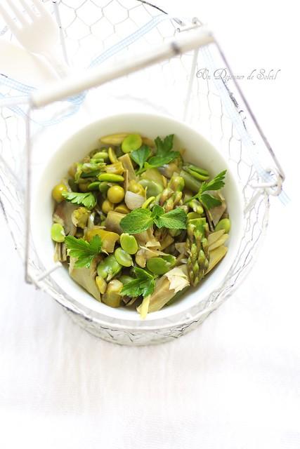 Vignarola: the magic spring vegetables, all together