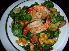 Bayou Shrimp Pasta at the Zin Room