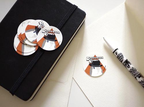 Ploppwork Bunny Stickers