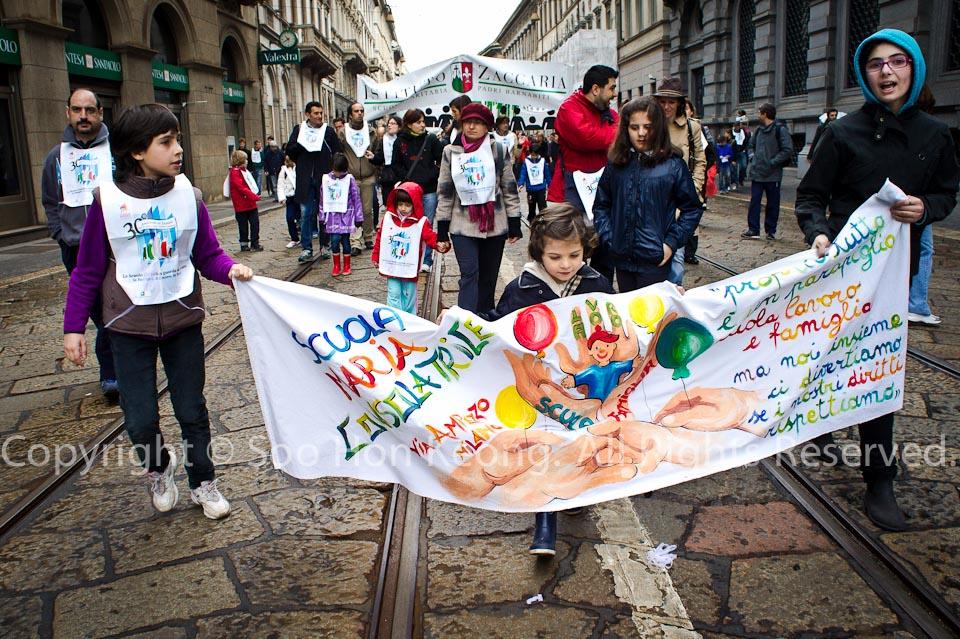 Procession @ Milan, Italy