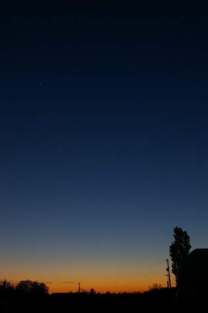 Venus early evening