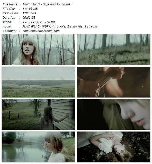 Taylor Swift - Safe and Sound.mkv