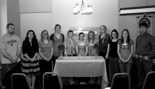 group inducted into kappa delta pi 2012