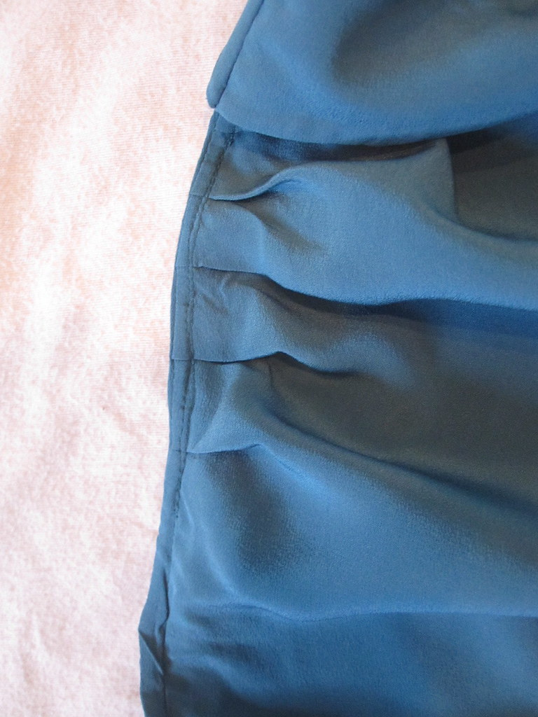 French Seam with Pleats