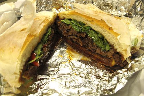 Bulgogi beef sandwich