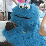KLRU 50th Birthday Party 2012 186 Cookie Monster!