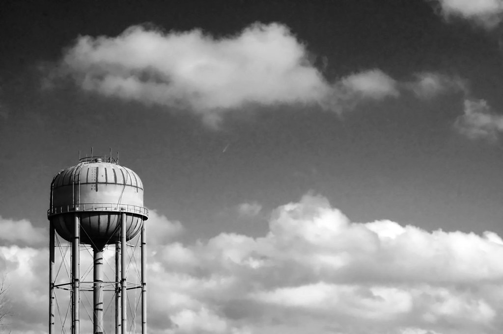 Water Tower Under Construction