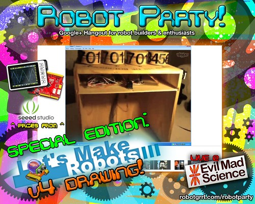 Robot Party May 3, 2012