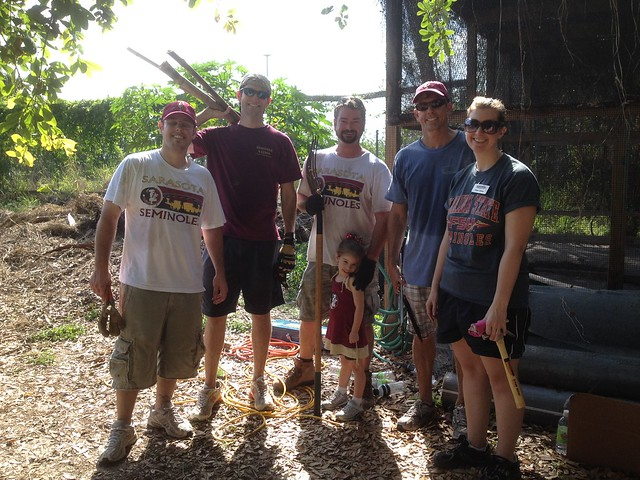 Sarasota Seminole Club Seminole Service Day