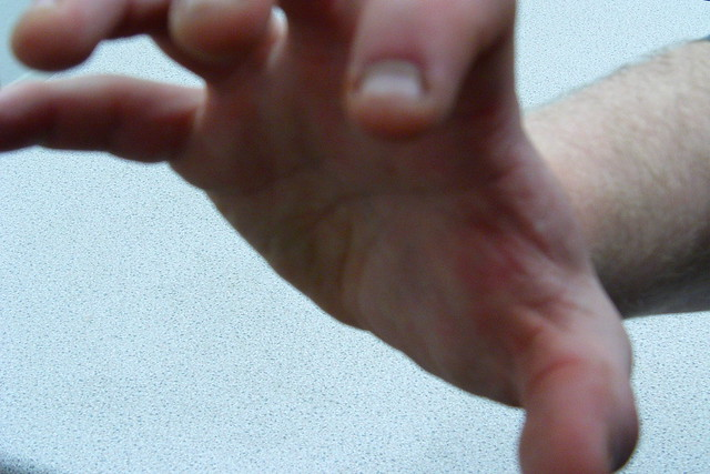 groping hand