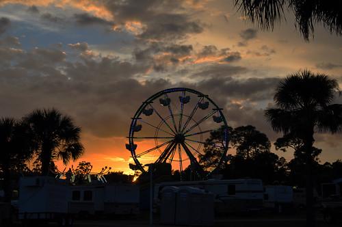 sunset usa festival nikon unitedstates florida fair ferriswheel veteranspark lehigh leecounty springfestival lehighacres d5000 fisherbray
