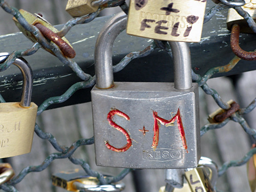 s & m - Pont des Arts, Paris