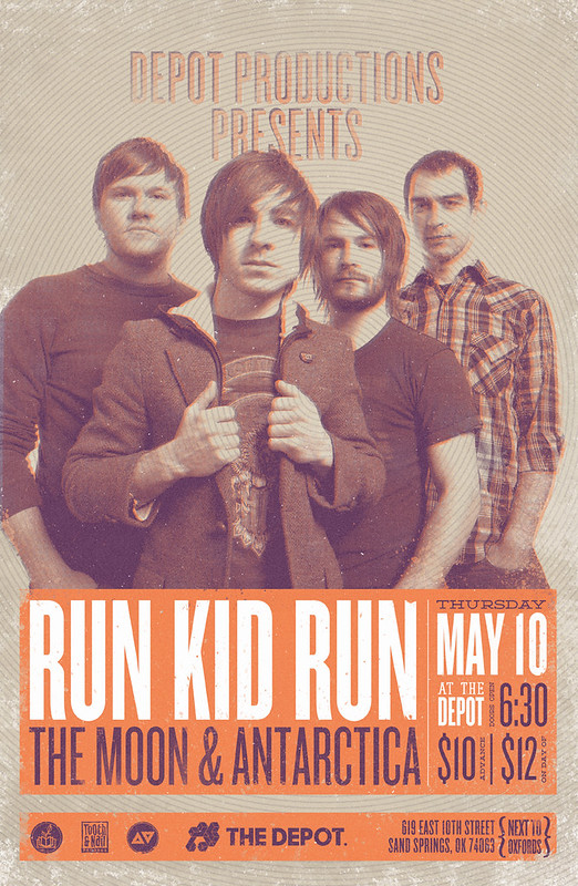 Gig Poster - Run Kid Run